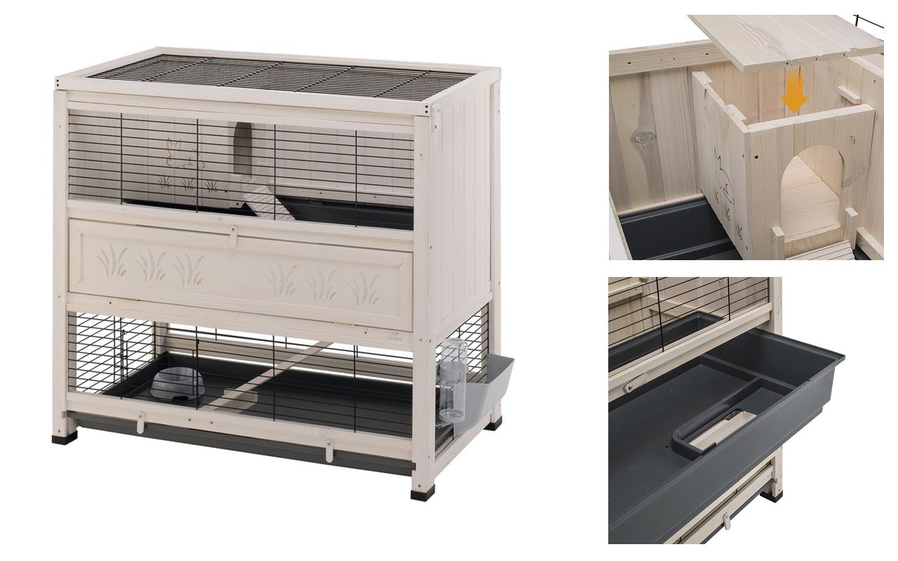Gabbie per conigli e criceti 5 case da sogno per piccoli for Piccoli piani domestici vittoriani
