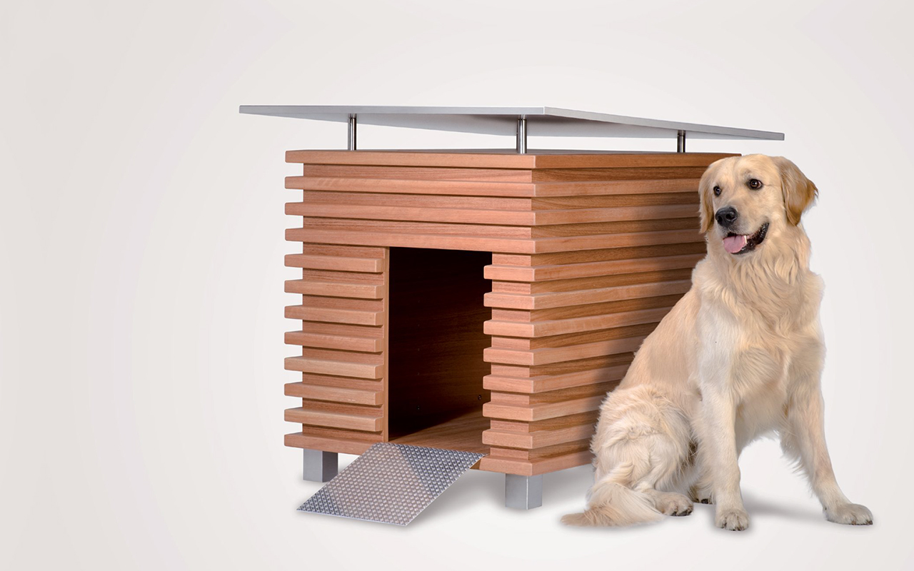 Cucce per cani da esterno design per tutti i gusti for Cani da tenere in casa