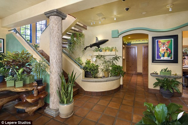 La casa per gatti di Peter Cohen in California