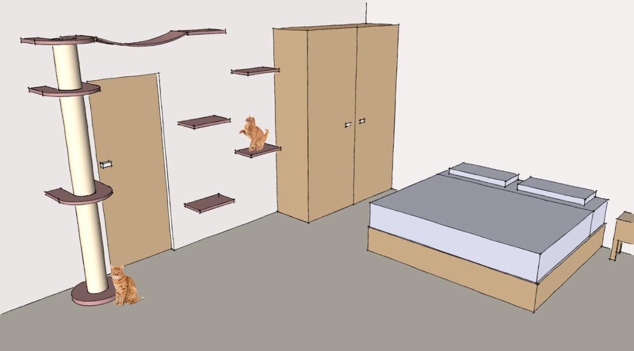 Costruire Cuccia Per Gatti mensole per gatti, come disporle e dove trovarle - animali