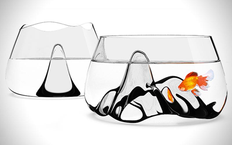 Bocce per pesci di design 5 vasche con stile animali for Boccia pesci