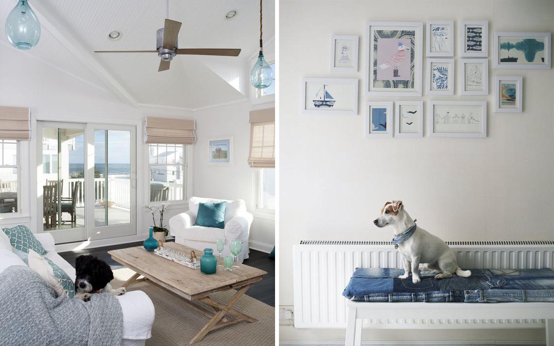 Ispirazioni di pet design stile marinaro per cani e - Arredare casa al mare ikea ...