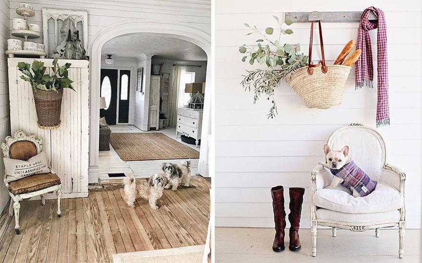 Ispirazioni di pet design stile shabby chic per cani e gatti animali pucciosi - Porte stile shabby chic ...