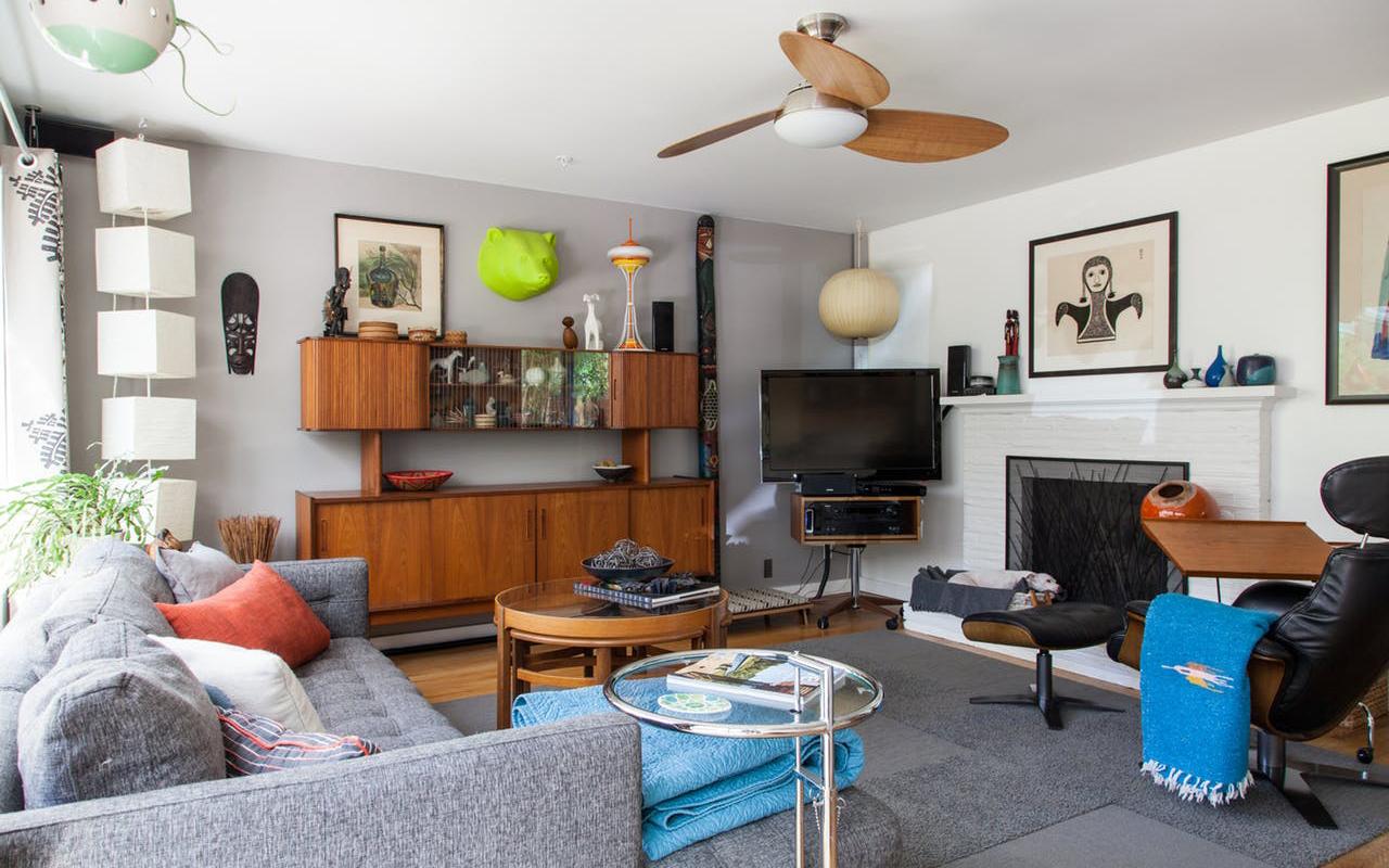 Una casa in stile art d co a misura di umani cani e gatti for Capannone di casa in stile