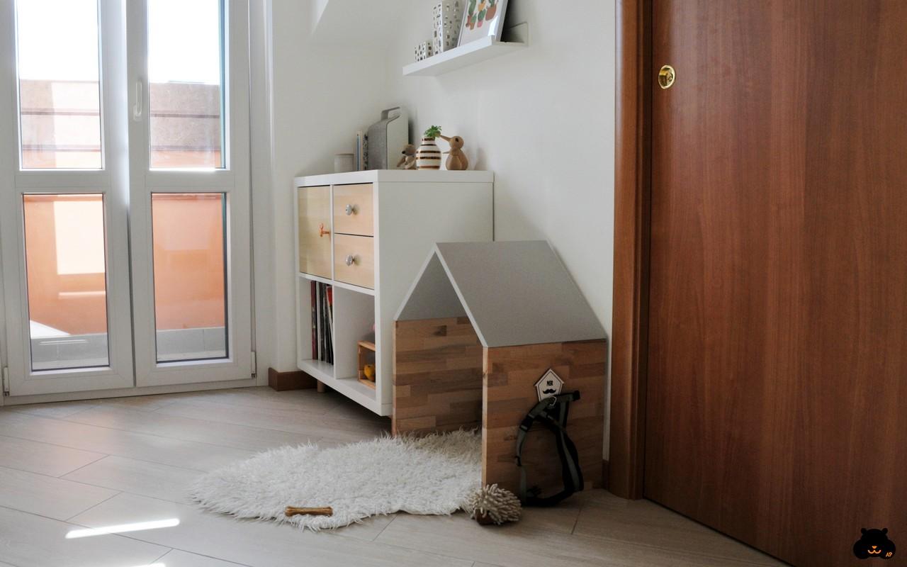 Una casa in stile nordico a misura di cane in Italia