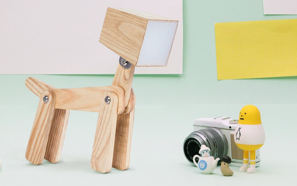 Idee regalo design animalipucciosi lampada cane animali for Idee regalo design