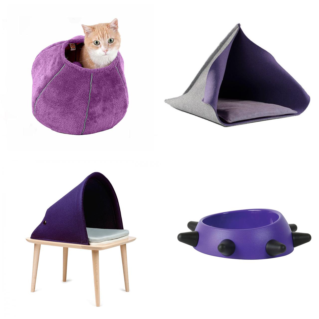 Ispirazioni di pet design | Colore Pantone 2018 per cani e gatti