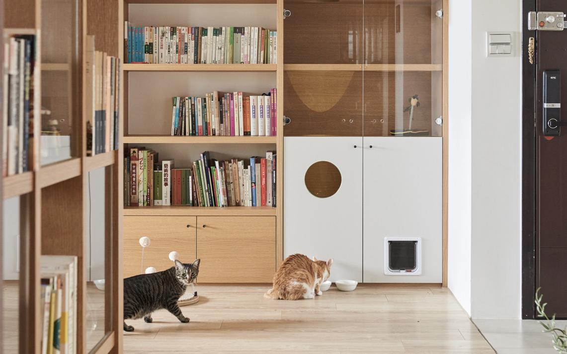 Arredo vintage casa gatti tiragraffi interior animalipucciosi 1 animali pucciosi - Arredo casa vintage ...