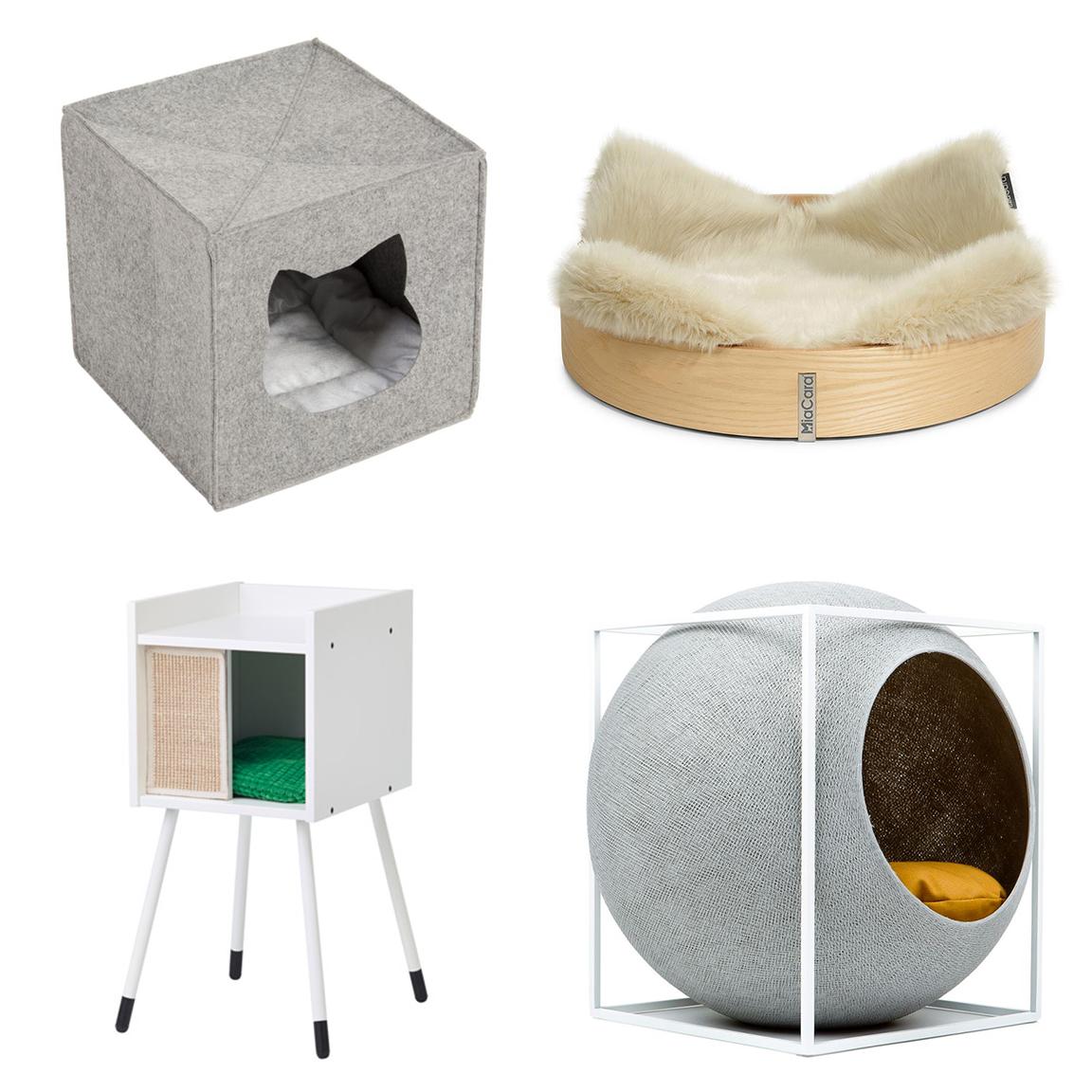 Ispirazioni di pet design stile nordico per gatti - Cuccia per gatti ikea ...